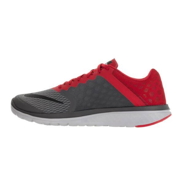quality design dc7e7 b6078 Shop Nike Men's FS Lite Run 3 Drk Grey/Black/University Red ...