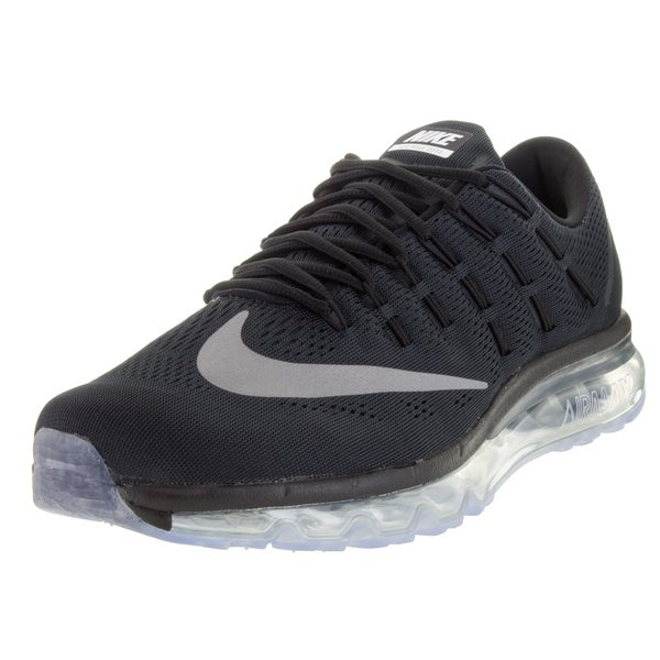 best authentic e3ad2 b0955 ... White Nike Menx27s Air Max 2016 BlackWhiteDark Grey Running ...