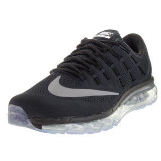 Nike Men's Air Max 2016 Black/White/Dark Grey Running Shoe