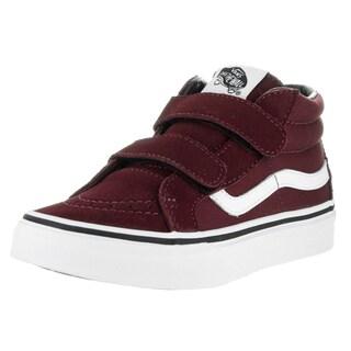 Vans Kids Sk8-Mid Reissue V Canvas/Suede Port Skate Shoes