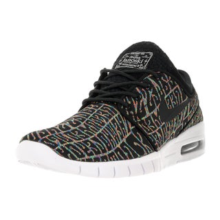 Nike Men's Stefan Janoski Max PRM Black/Black White Multicolor Skate Shoe