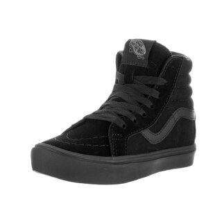 Vans Kids Sk8-Hi Reissue Lite Black/Black Skate Shoes
