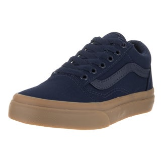 Vans Kids Old Skool Eclipse/Light Gum Canvas Skate Shoes