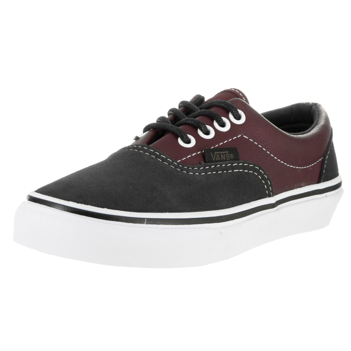 Vans Kids Era Multicolor Suede and Leather Skate Shoes (1...