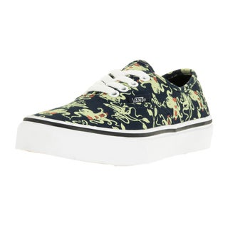 Vans Kids Authentic Octopus Glow In The Dark Skate Shoe