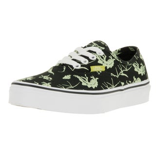 Vans Kids Authentic Dinosaur/Black Glow In The Dark Skate Shoe