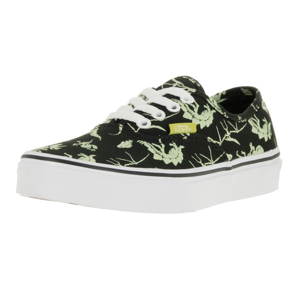 b4be08b79289c Shop Vans Kids Authentic Dinosaur/Black Glow In The Dark Skate Shoe - Free  Shipping On Orders Over $45 - Overstock - 13394039