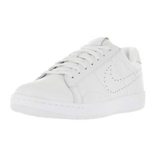 Nike Men's Tennis Classic Ultra Lthr White/White/Black Casual Shoe