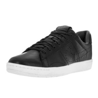 Nike Men's Tennis Classic Ultra Lthr Black/Black/White Casual Shoe