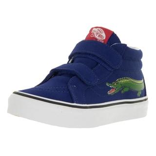 Vans Kids Sk8-Mid Reissue V Reptile Sidestripe/Croco Skate Shoe