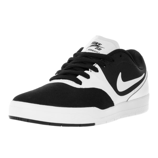 575ea088487 Shop Nike Men s Paul Rodriguez 9 CS Black White White Skate Shoe ...
