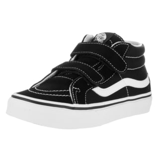 Vans Kids Sk8-Mid Reissue V Black/True White Skate Shoe