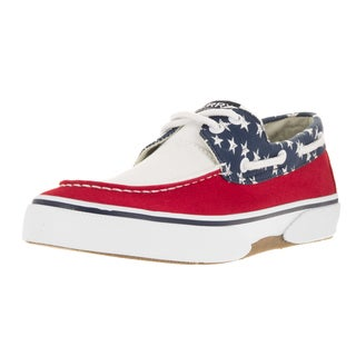 Sperry Top-Sider Men's Halyard 2-Eye USA Boat Shoe