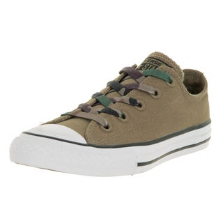 Converse Unisex Chuck Taylor All Star Sandy Green and White Canvas Casual Shoes