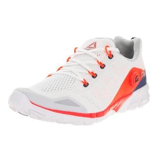 Reebok Men's Zpump Fusion 2.0 Knit White/Red/Blue/Navy/Steel Running Shoe