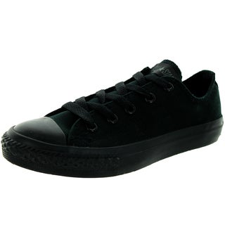 Converse Kids Chuck Taylor Ox Black/Monoch Basketball Shoe