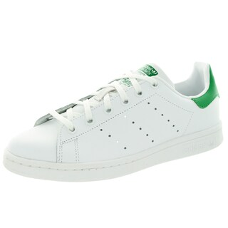 Adidas Kids Stan Smith J Originals White Leather Casual Shoes