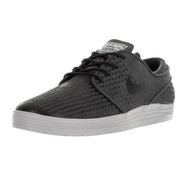 new styles 93066 dfbf5 ... Men s Shoes     Men s Sneakers. Nike Men  x27 s Lunar Stefan Janoski  Anthracite Black Wolf Grey Skate