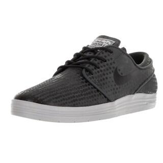 Nike Men's Lunar Stefan Janoski Anthracite/Black/Wolf Grey Skate Shoe