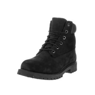 Timberland Kids' Premium Nubuck 6-inch Wide Boots