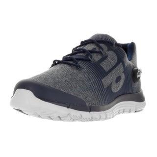 Reebok Men's Zpump Fusion LE Blue/Black/Navy/Grpht/Stl Running Shoe