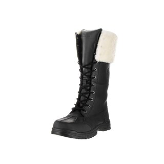 Polo Ralph Lauren Kids' Quincie Black Boots