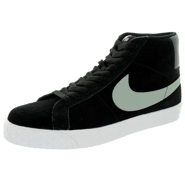 c7ecfe4597a6 Shop Nike Men s Blazer SB Premium SE Base Grey Black White Skate ...