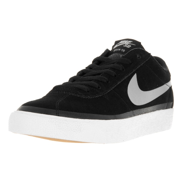 Nike BRUIN SB PREMIUM Men's Black Suede Skateboarding Shoes size 10.5 11