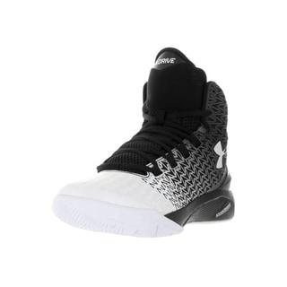 Under Armour Kid's Clutchfit Drive 3 Black Plastic Basketball Shoes