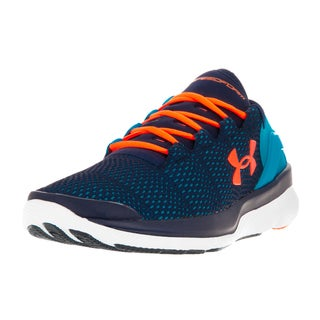 Under Armour Kids' Speedform Apollo 2 Blue Plastic Running Shoes