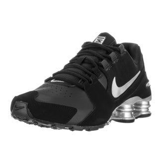 Nike Kids' Shox Avenue (GS) Black/Metallic Silver Running Shoes