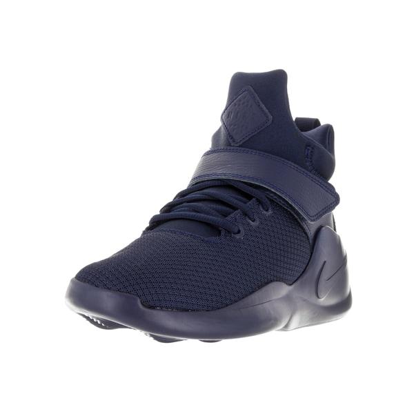 sale retailer 1d561 6f11d Nike Kids  x27  Kwazi (GS) Midnight Navy Basketball Shoe