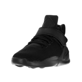 Nike Kids' Kwazi Black Textile Basketball Shoes