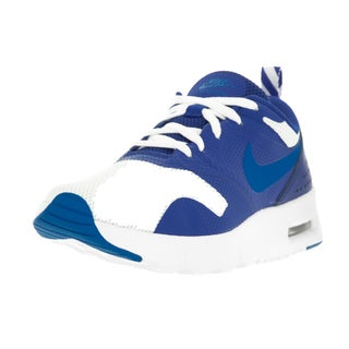 Nike Kids' Air Max Tavas (PS) White/Photo Blue/Game Royal Plastic Running Shoes