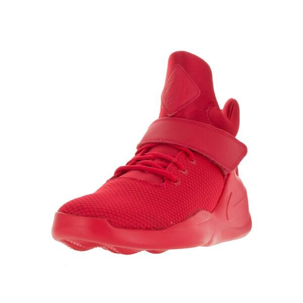 dde44b1326ed Shop Nike Men s Kwazi Action Red Fabric Basketball Shoes - Free ...