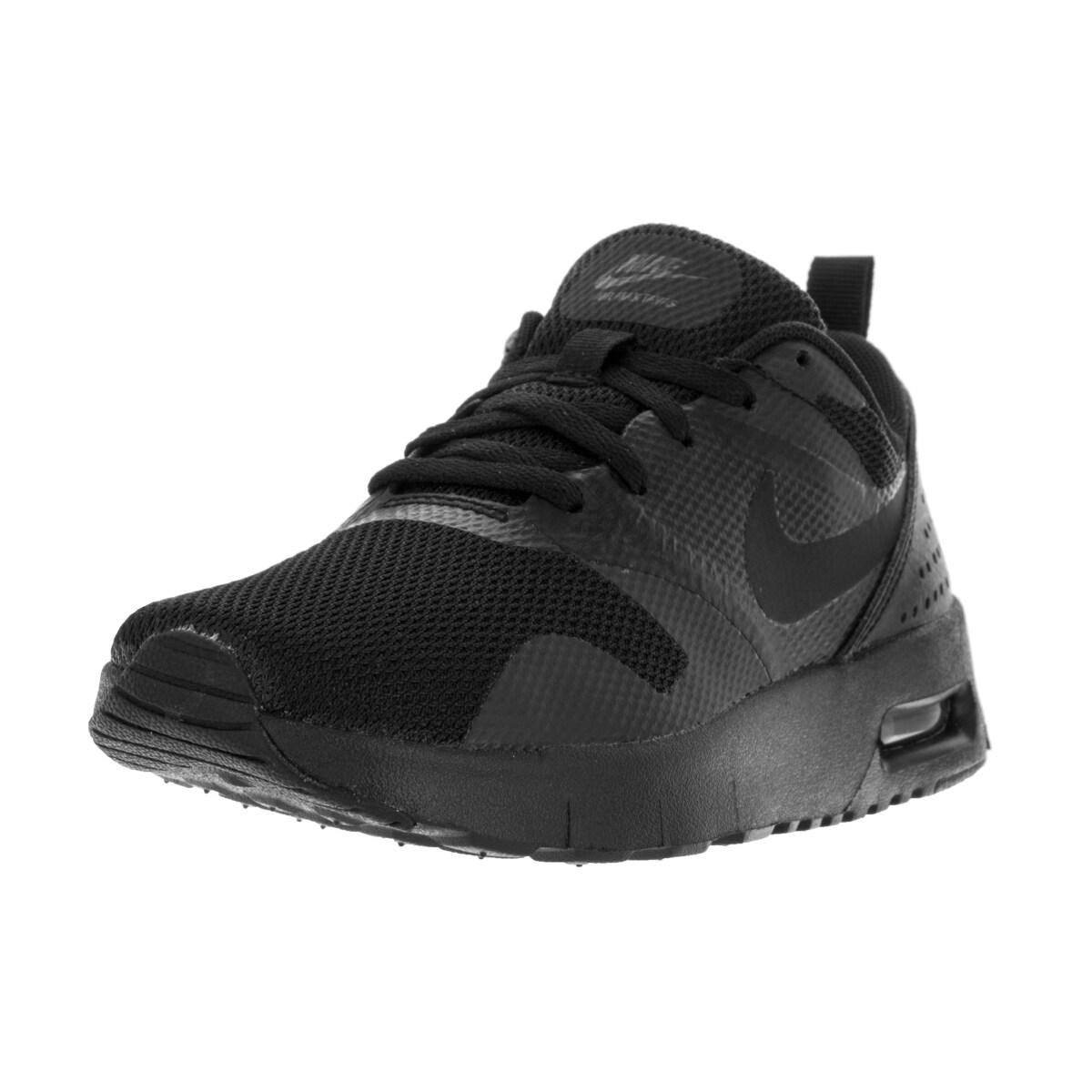 Nike Kids Air Max Tavas (PS) Black/Black Running Shoes (1...