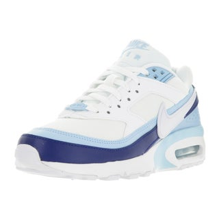 Nike Kids' Air Max BW Blue, White, and Deep Royal Blue Synthetic Running Shoes