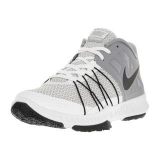 Nike Men's Zoom Train Incredibly Fast White/Black Stealth Wolf Grey Training Shoe