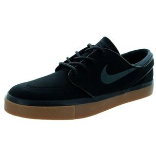 Nike Men's Zoom Stefan Janoski Black Canvas Skate Shoe