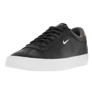 Nike Men's Match Classic Suede Black Leather Tennis Shoe