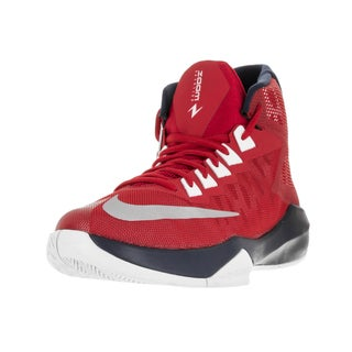 Nike Men's Zoom Devotion Red Basketball Shoe