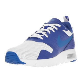Nike Kids' Air Max Tavas (GS) White and Blue Plastic Running Shoes