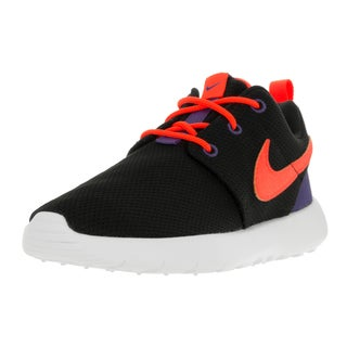 Nike Kids Roshe One (PS) Black/Ttl Crmsn/Dk Prpl Dst/Wht Running Shoe