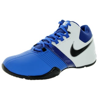 Nike Kids' AV Pro V (GS/PS) Game Blue and Black Basketball Shoe