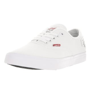 Levi's Men's Jordy Buck II White Skate Shoe