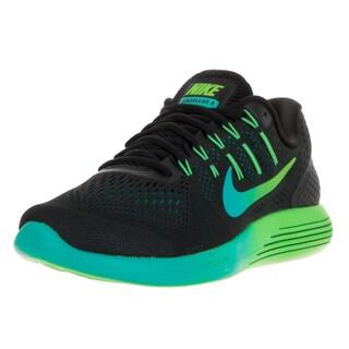 Nike Men's Lunarglide 8 Black/Multi Color R Tl Clr Jd Running Shoe