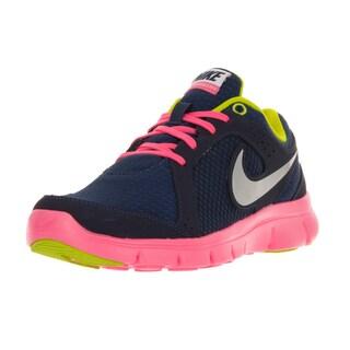 Nike Kids Flex Experience Blue Plastic Running Shoe
