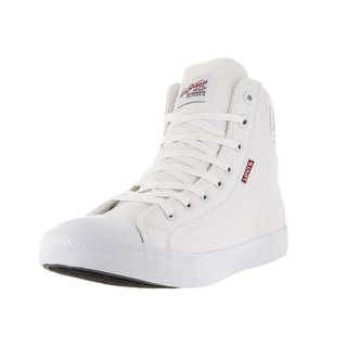 Levi's Men's Hamilton Buck II White Casual Shoe