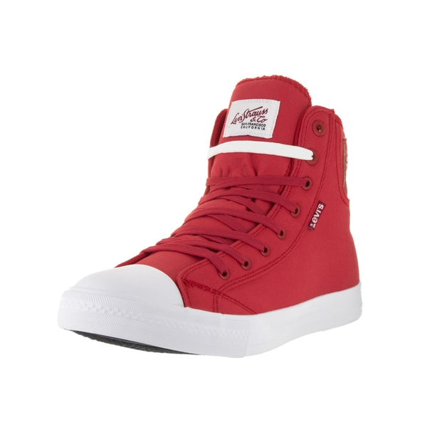 Red Casual Shoe - Overstock - 13394389