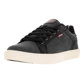 Levi's Men's Corey Hemp Black Casual Shoe